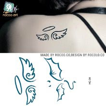 Online Get Cheap Angels Wings Tattoos Aliexpresscom Alibaba Group