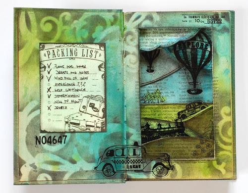 Journey book - inside