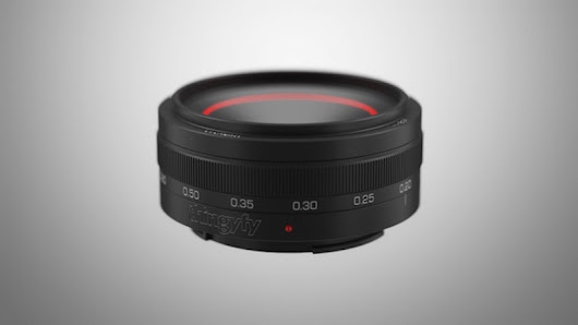 Check Out the World's First Multi-Aperture Pinhole Lens for DSLR Cameras