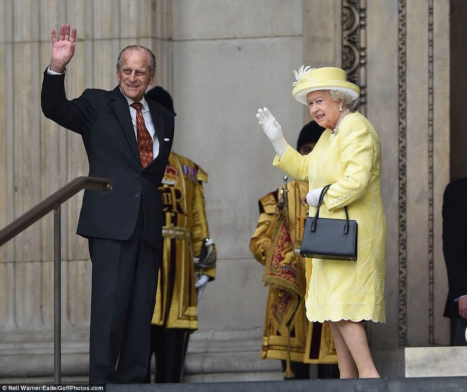 Aktualizacja: Poranne nabożeństwo + 95 urodziny księcia Edynburga!
