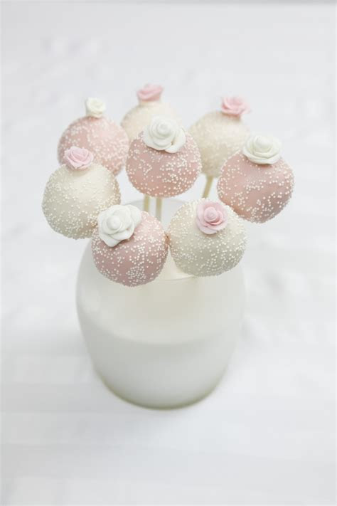 Wedding Cake Pops   CakeCentral.com