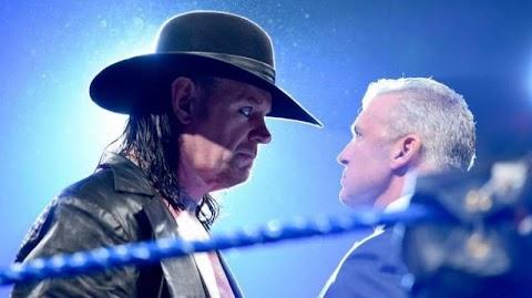 The Undertaker esteve nos bastidores do SmackDown Live