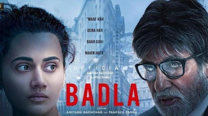 Badla (2019) HDRip Hindi 720p Download