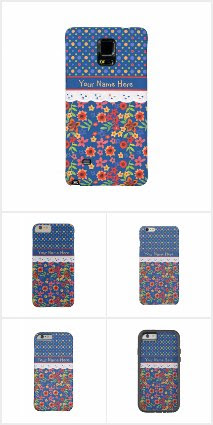 Granny Print Cases to Personalize