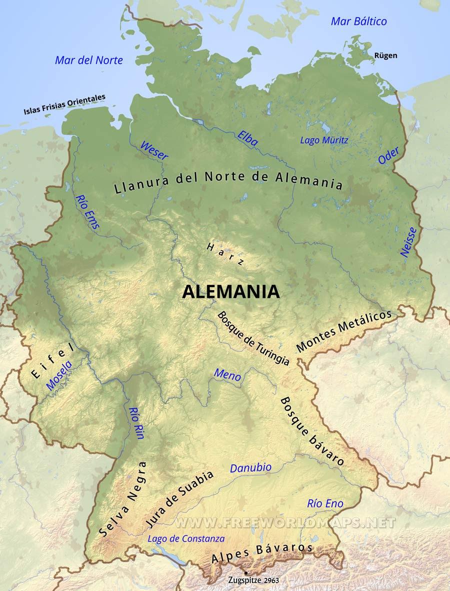 Mapa Politico De Alemania Actual.Herodoto Blog De Ciencias Sociales Y Pensamiento Por