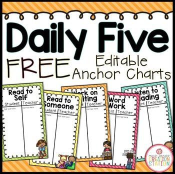 1000+ ideas about Daily 5 on Pinterest   Daily 5 kindergarten ...