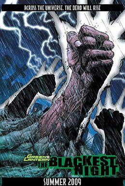 "Teaser for ""Blackest Night"" from the..."