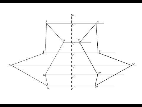 dibujo uno simetr a axial. Black Bedroom Furniture Sets. Home Design Ideas