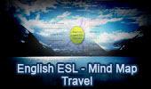 English as a second language ESL/EFL Conversations: Travel, Interactive Mind Map.