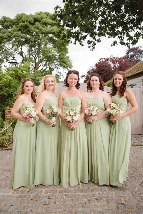 46 best mint green bridesmaid dresses images on Pinterest