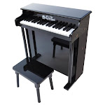 Schoenhut 6637B Black 37 Key Spinet