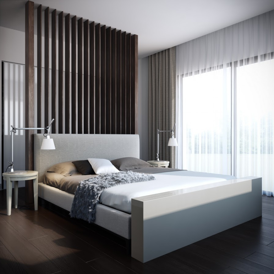 simple modern bedroom  Interior Design Ideas.