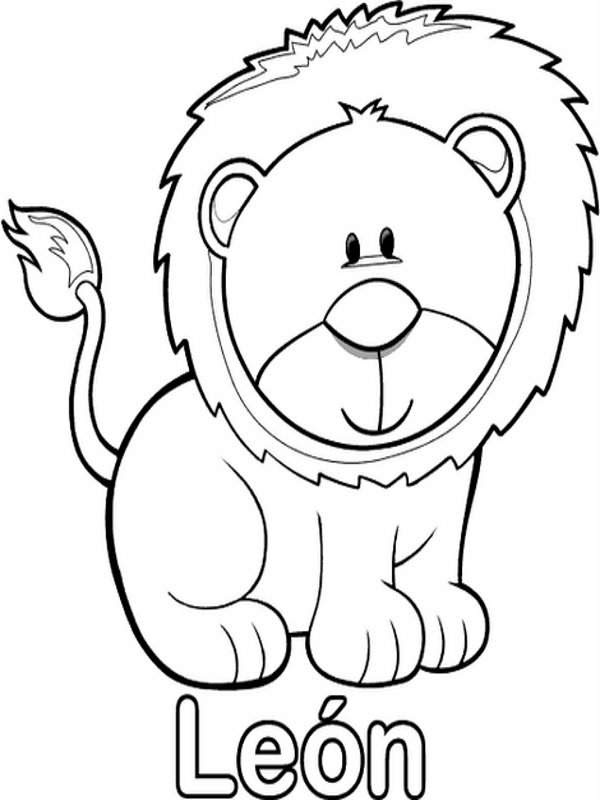 Dibujos Para Colorear Jirafas Infantiles Imagesacolorier