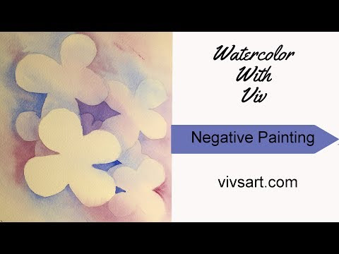 Negative space painting with positive results | Viv's Original Art, Triathlon Gifts, and Pet Portraits