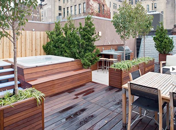 bahçe balkon tasarım roof veranda