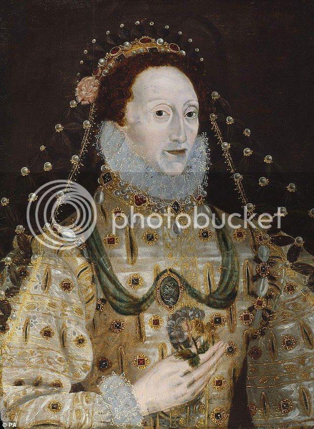 lukisan ratu elizabeth yang misterius