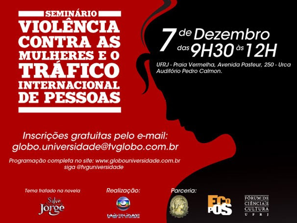 Seminário Violência Contra as Mulheres e o Tráfico de Pessoas (Foto: Divulgação)