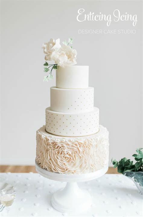 36 best Enticing Icing Wedding Cakes images on Pinterest
