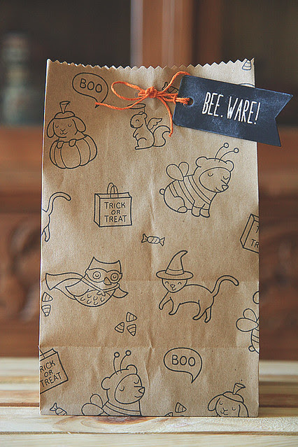 DIY Treat Bag, BEE.WARE!
