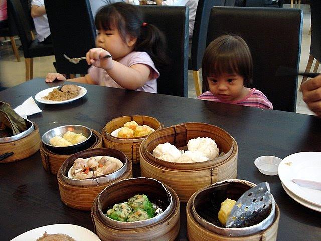 Kids love dim sum!