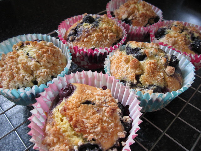 blueberry streusel muffins 003