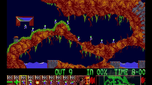 Lemmings | 1991 Amiga Puzzle Game | Play Free at Arcader.com