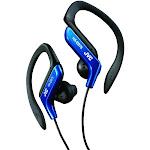 JVC HA-EB75 Ear-Clip Earbuds - Blue