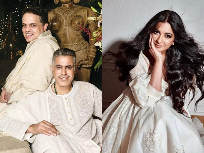 Rhea Kapoor's reception outfit took a week