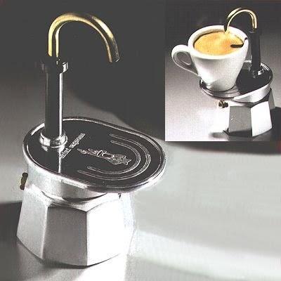 bialetti espressokocher bialetti 1281 mini express 1 tasse espressokocher alu. Black Bedroom Furniture Sets. Home Design Ideas