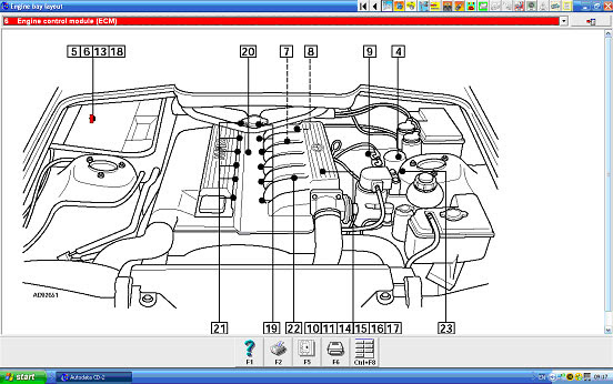 Range Rover P38 Relay Diagram