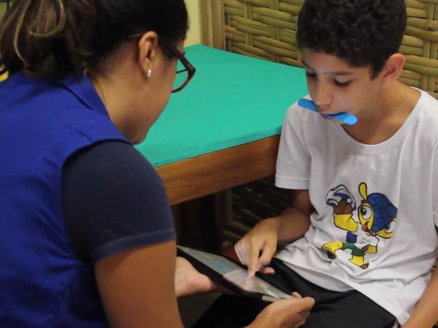 Crianças com deficiência intelectual ou múltiplas brincam e aprendem na Apae (Foto: Divulgação)