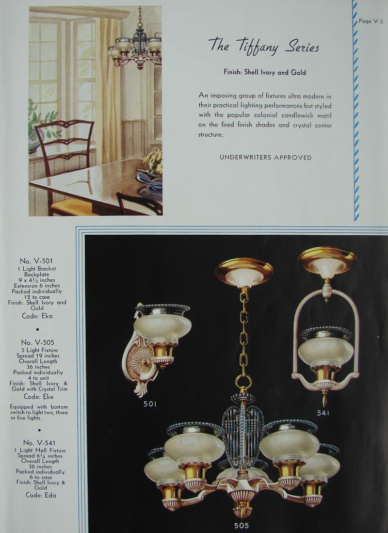 1941 Virden Lighting Catalog