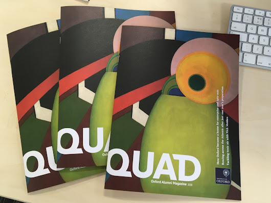 Proudly presenting QUAD, the University of Oxford's new Alumni Magazine @ All Is Possible