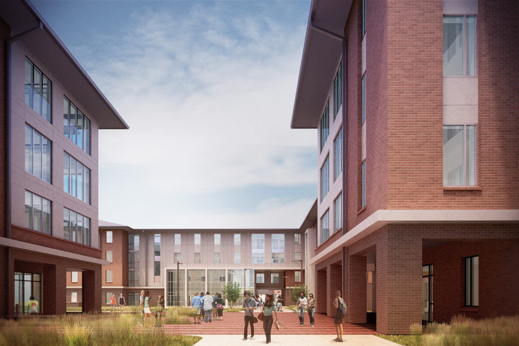 Project Highlight Douthit Hills Student Dormitories Metromont