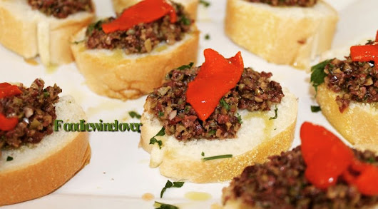 Olive Tapenade, Gina's Style