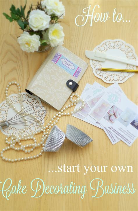 How to start your own home based Cake Decorating Business