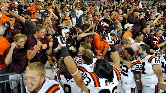Exhaling After a Spectacular Virginia Tech Win