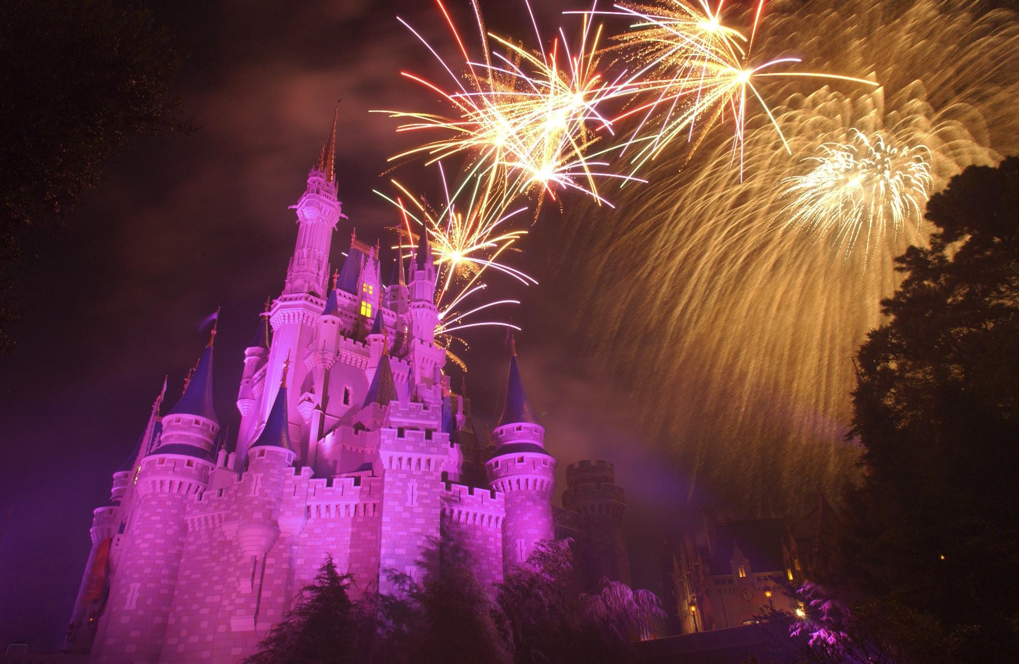 Magic Kingdom Wishes dessert party