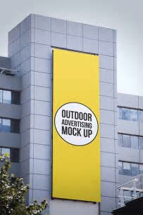 Outdoor Advertising Mock Up Pack   Store Mockup Zone