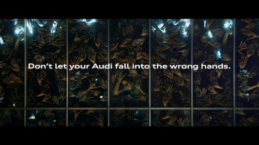 In Zombie Movie-Inspired Ad, Audi Shows How Your Car Could Fall Into Wrong Hands - DesignTAXI.com