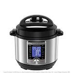 Instant Pot Ultra Mini 10-in-1 Electric Pressure Cooker, Sterilizer, Slow Cooker, Rice Cooker, Steamer, Sauté, Yogurt Maker, Cake Maker, Egg Cooker,