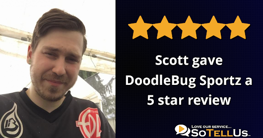 Scott V gave DoodleBug Sportz a 5 star review