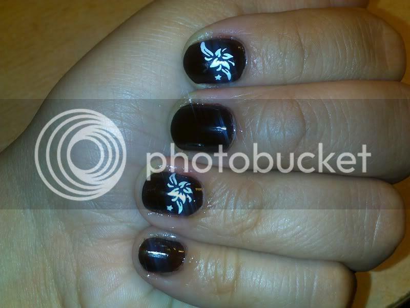 e.l.f,chocolate,brown,nails,konad,polish