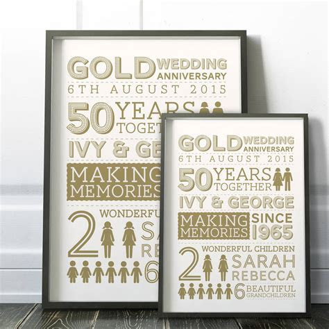 wedding anniversary family art print by cows & kisses