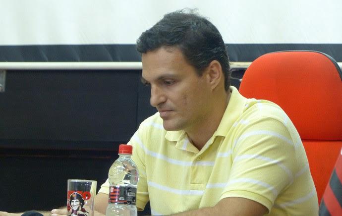 Bruno Spindel gerente de marketing do Flamengo (Foto: Vicente Seda)