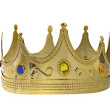 Adult Jeweled King Crown 8in x 4 1/2in- Party City
