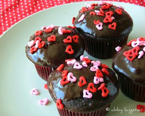 Super-Indulgent Valentine's Day Cupcakes