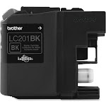 Brother LC 201BK Ink Cartridge, Black - 1-pack