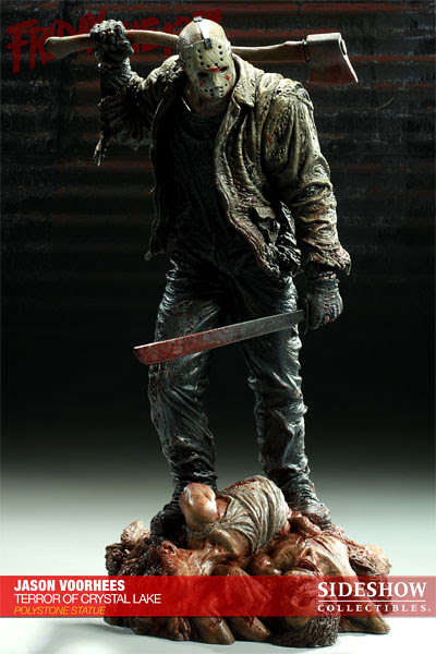 Terror of crystal lake statue
