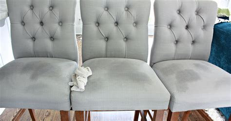 Removing Water Stain on Upholstered Chair